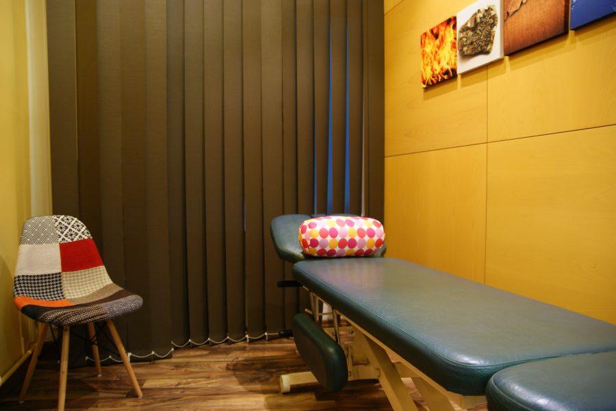Sala de masaje - sala de masatge